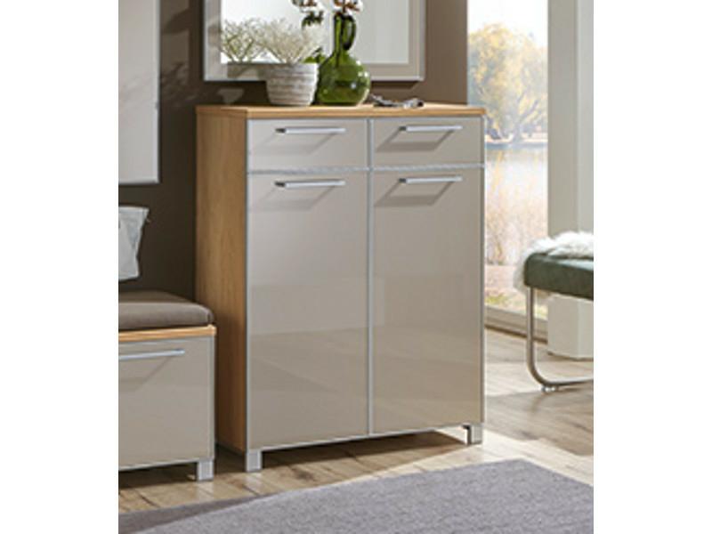 voss m bel santina schuhkommode f r ca 12 paar schuhe 313. Black Bedroom Furniture Sets. Home Design Ideas
