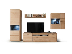 MCA Furniture Tarragona Wohnkombination II - TAR11W02