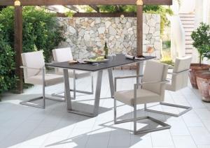 Niehoff Outdoor Küchen : Niehoff garden nelson gartentisch tischsystem mit stuhl nina