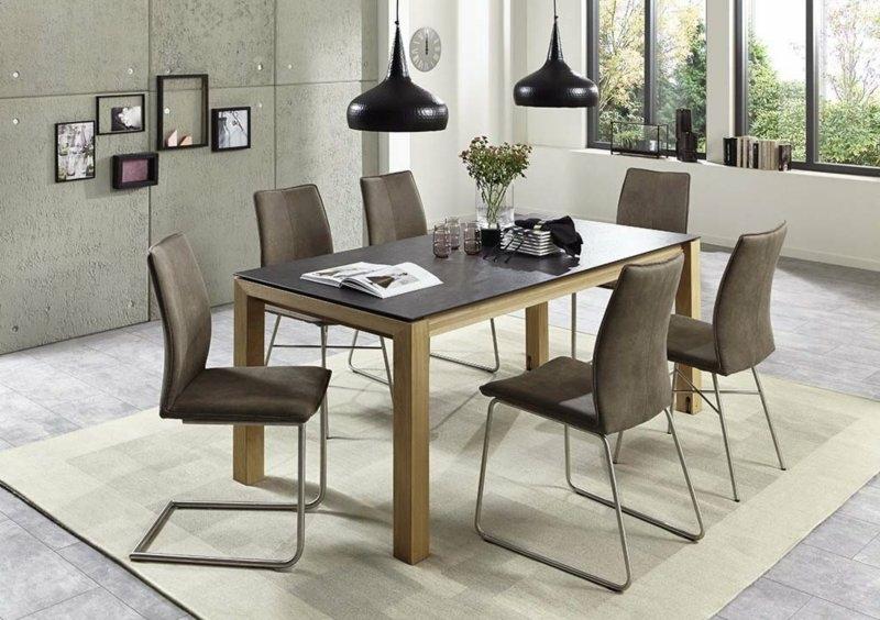 Niehoff design ausziehtisch montana for Ausziehtisch design