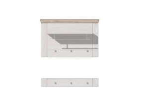 MCA Furniture Bozen T91 Garderobenpaneel-Set BOZ96T91