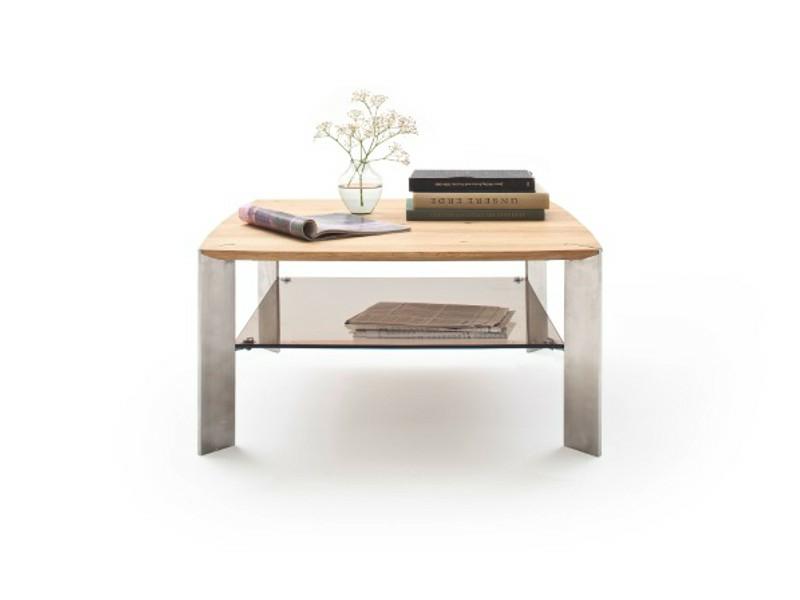Mca Furniture Couchtisch Nelia Asteiche Massiv 80x80 Cm 58865az7