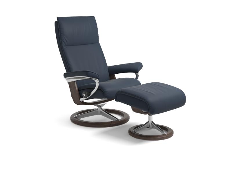 stressless sessel aura. Black Bedroom Furniture Sets. Home Design Ideas
