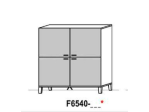 Schröder Kitzalm Living Highboard F6540
