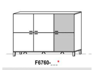 Schröder Kitzalm Living Highboard F6760