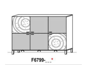 Schröder Kitzalm Living Highboard F6799