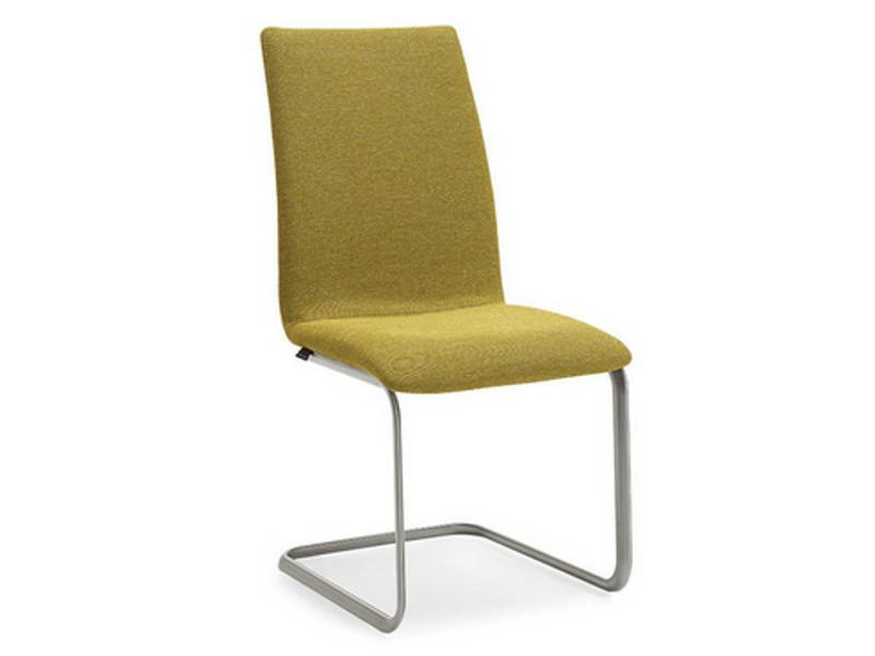 Venjakob Stuhl Eileen Sitz und Rücken innen Preisgruppe A, Rücken außen Preisgruppe A, Gestell Edelstahloptik 2601 17