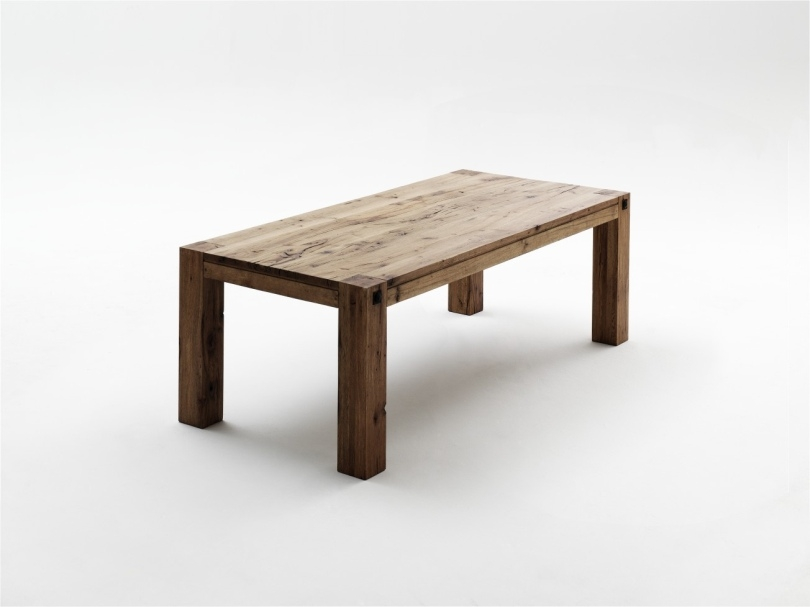 mca furniture esstisch leeds le180eiv 180 x 90 cm eiche massiv verwit. Black Bedroom Furniture Sets. Home Design Ideas
