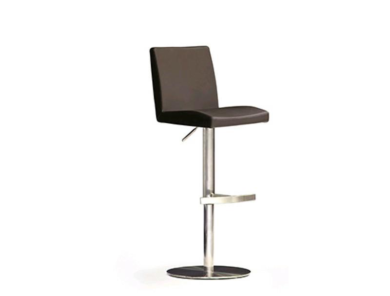 Mca furniture barstuhl barhocker lopes bodenplatte rund for Barhocker xooon