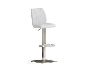 Mca furniture barstuhl barhocker naomi bodenplatte eckig for Barhocker 40x40