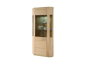 MCA Furniture Eckvitrine Sena T16