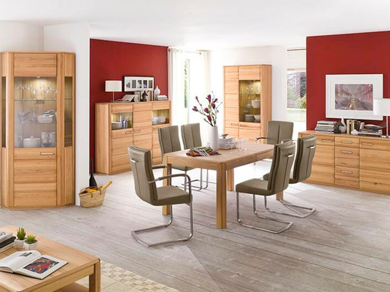 mca furniture esstisch sena 160 cm ausziehbar auf 260 cm t60 578 00. Black Bedroom Furniture Sets. Home Design Ideas