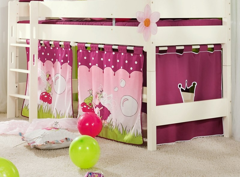 paidi bild vorhang f r spielbetten mit h he 120 cm und 125. Black Bedroom Furniture Sets. Home Design Ideas