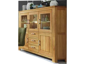 Niehoff Casa Nova Highboard in Wildeiche geölt 0144-47-000