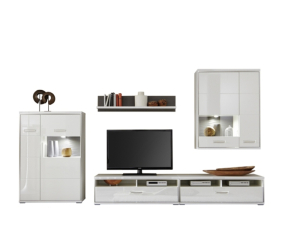 MCA Furniture Trento Wohnkombination V - TRE83W05