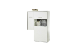MCA Furniture Trento Anstell-Highboard R - TRE83T23